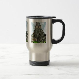 Mug: Mayan Temple at Tikal, Guatemala Travel Mug