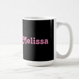 Mug Melissa