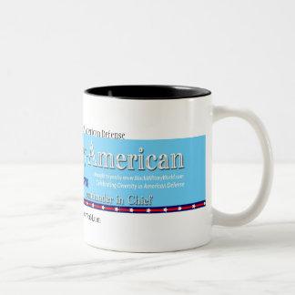 Mug, Military Veteran Two-Tone Coffee Mug