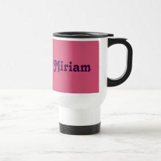 Mug Miriam