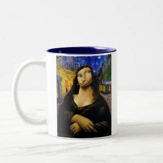 Mug: Monalivre by Flavio Rossi