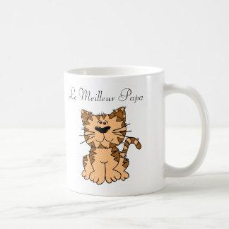 Mug. Monogram message Cat. Coffee Mug