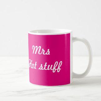 Mug Mrs hot stuff