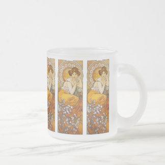 Mug: Mucha - Art Nouveau - Topaz