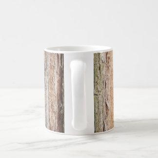 Mug, mug with the motif of tree bark
