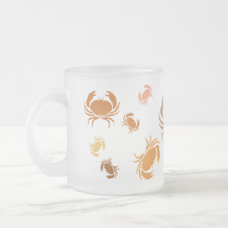 Mug - Multiple Orange and Brown Crabs