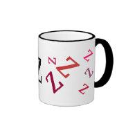 Mug - Multiple Red Letters