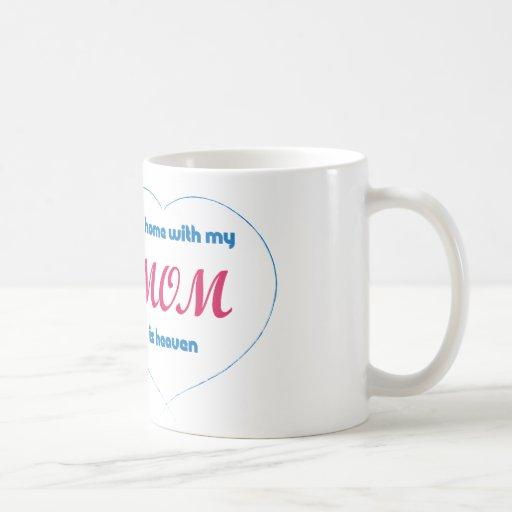 Mug - My Home with my MOM is heaven