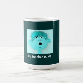 """mug  """"My teacher is #1"""""""