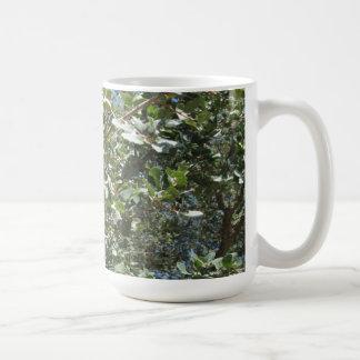 Mug: Oak Leaves and Acorns Tableware Classic White Coffee Mug