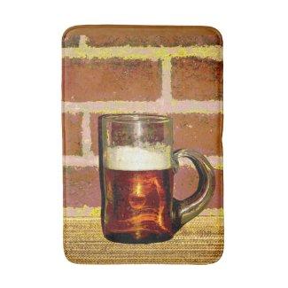 Mug of Beer Bath Mats
