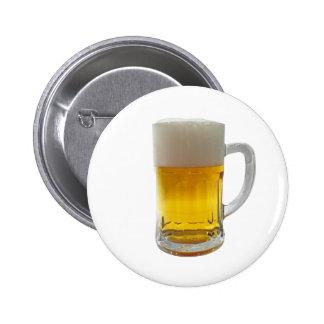 Mug of Beer 2 Inch Round Button
