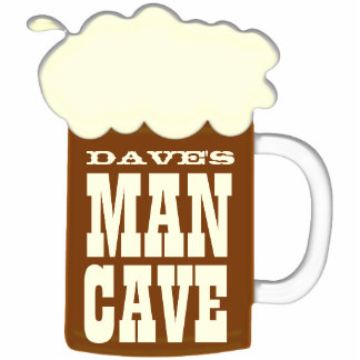 Mug Of Beer Funny Man Cave Statuette