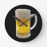 Mug of Beer Wall Clocks