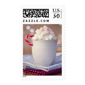 Mug of hot chocolate postage