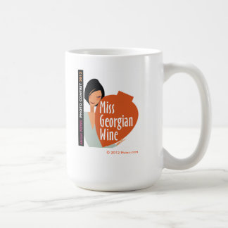 Mug of Miss Georgian Wine Hvino News Contest