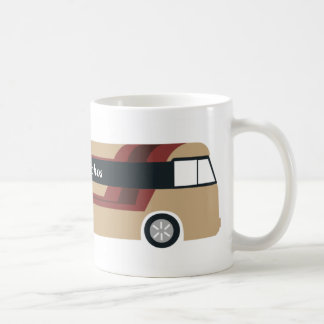 Mug of the excursion bus