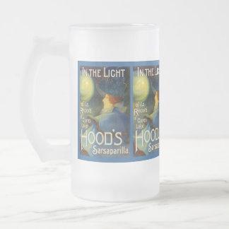 MUG ~ OLD AD HOOD'S SARSAPARILLA ~ IN THE LIGHT!