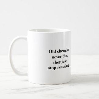 Mug: Old chemists never die