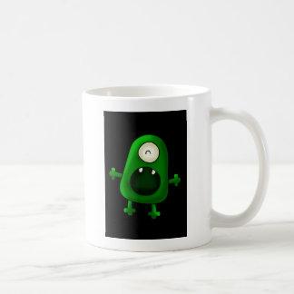 Mug one eyed green monster