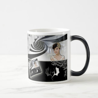 Mug or cup Asia black and white