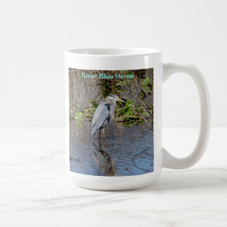 Mug or Stein with the Great Blue Heron.