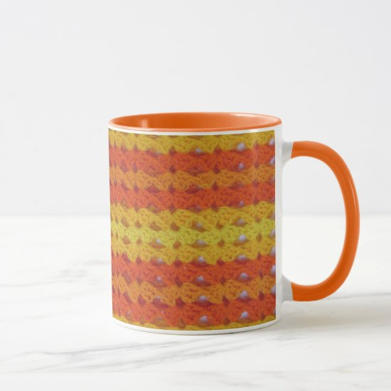 Mug - Orange afghan