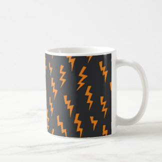 Mug- Orange Lightning Bolts! Coffee Mug