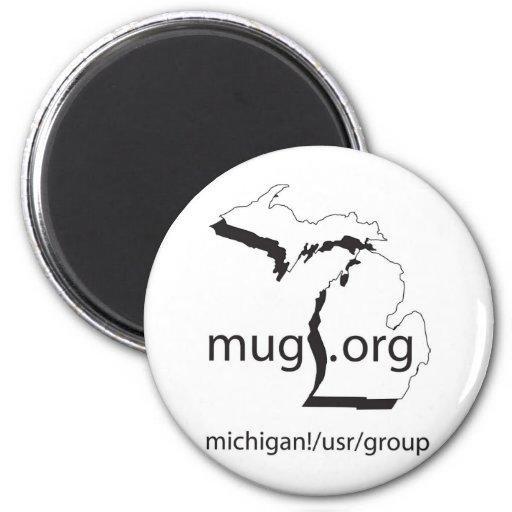 MUG.org accessories 2 Inch Round Magnet