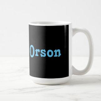Mug Orson