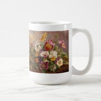 Mug-Pansies