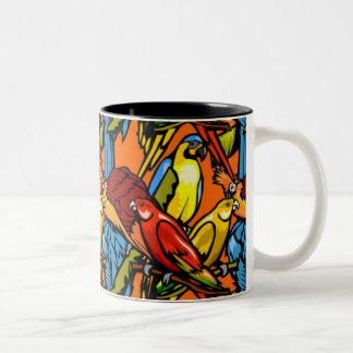 Mug - Parrots