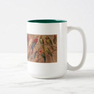 Mug, Parrots Galore