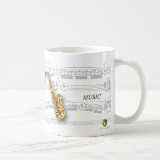 Mug partition and saxophone