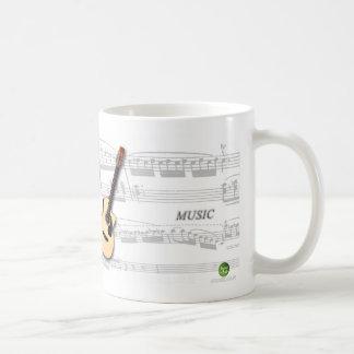 Mug partition and violão