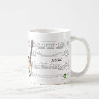 Mug partition and violão godin