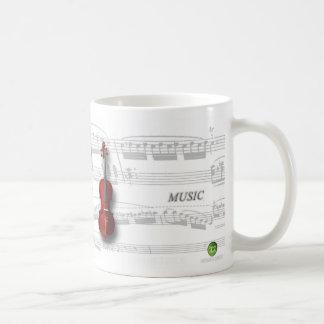Mug partition and violin