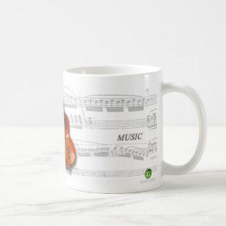 Mug partition and violoncelo