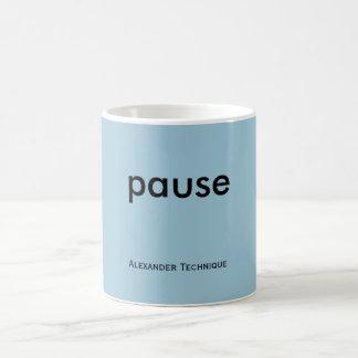 Mug - pause