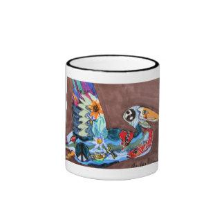 Mug, Pelican, Gulf Coast Environmental Art