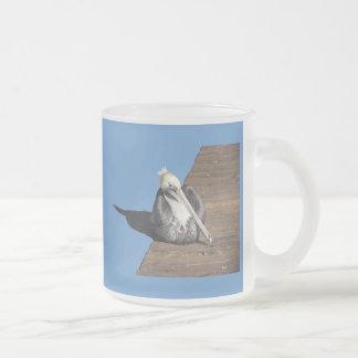 Mug - Pelican on pier