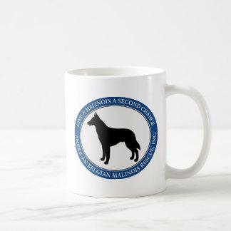Mug, personalized & Malinois Rescue Logo Classic White Coffee Mug