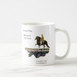 Mug, Peruvian Paso Horse & Rider on Mountain trail