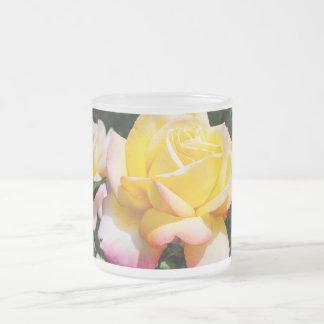 Mug - Pink and Yellow Rose