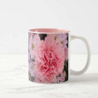 Mug Pink Carnation Beauty