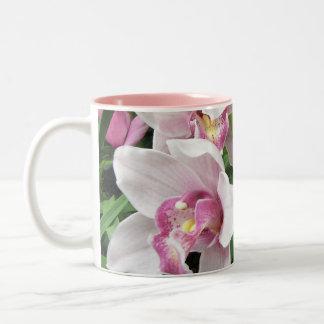 MUG -Pink Cymbidium Orchids
