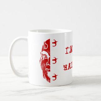 Mug PITCHFORK 333 I'M ONLY HALF BAD DEVIL'S FACE