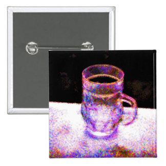 Mug Pointilism Buttons