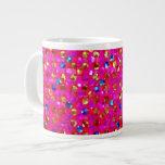 Mug Polka Dots Sparkley Jewels Jumbo Mugs