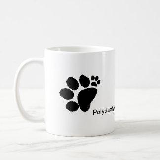 Mug - Polydactyl paw prints